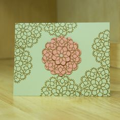 in colors cards stampin up | Here's my fourth card using Stampin' Up's 2013-2015 In Colors ...