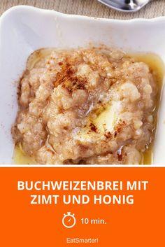 Buchweizenbrei mit Zimt und Honig - smarter - Zeit: 10 Min. | eatsmarter.de