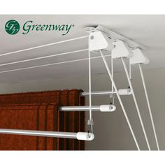 Found it at Wayfair - 3 Rod Laundry Lift Drying Rack Laundry, Clothes Drying Racks, Clothes Dryer, Clothes Hanger, Laundry Storage, Small Laundry Rooms, Laundry Room Design, Drying Room, Laundry Room Remodel