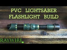 DIY: PVC Lightsaber Flashlight Build - YouTube