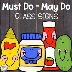 Must Do - May Do | Back to School by Almost Friday | TpT Activity Centers, Math Centers, Writing Centers, Absent Students, French Language Learning, Learning Spanish, Almost Friday, Inquiry Based Learning, Word Work Activities