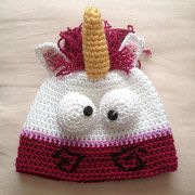Crochet Unicorn hat, despicable me unicorn hat with ear flaps, fluffy  unicorn hat, derpy unicorn, ready to ship, handmade child size hat 78e6e8d80cc