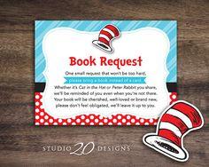 Instant Download Dr. Seuss Book Request Dr. by Studio20Designs