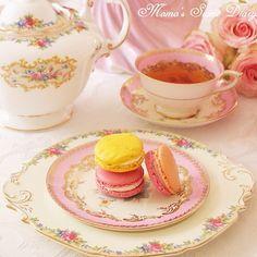 Tea & Macaroons www.MadamPaloozaEmporium.com www.facebook.com/MadamPalooza
