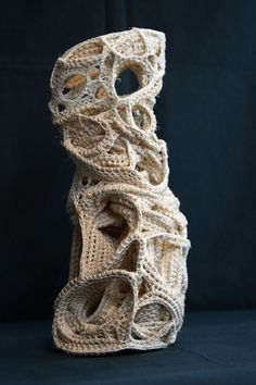 Judy Tadmans Rope Sculptures.