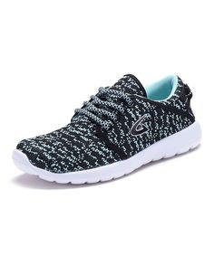 Black & Blue Marled Sneaker