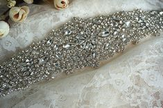 Hey, I found this really awesome Etsy listing at https://www.etsy.com/listing/190808182/rhinestone-applique-bridal-accessories