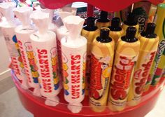 Sherbet fountain and Love Hearts old school favs for your stocking from Hamley's!!