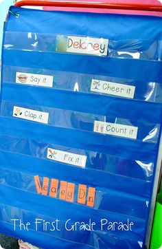 Great idea for spelling word practice as well! SO many different literacy strategies in one activity!