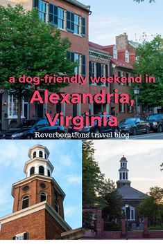 Old Town Alexandria, Virginia in the USA is a charming small town that's dog-friendly. Here's what to see in Alexandria for a weekend, including nearby Mount Vernon. Usa Travel Guide, Travel Usa, Travel Guides, Travel Tips, Alexandria Virginia, Old Town Alexandria, East Coast Usa, Mount Vernon, Road Trip Usa