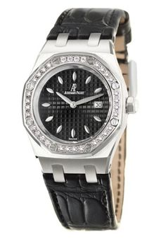 Audemars Piguet Lady Royal Oak Womens Quartz Watch 67621ST-ZZ-D002CR-01: Watches: girardperregauxwatches.com