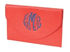 Coral Envelope Purse $29.95