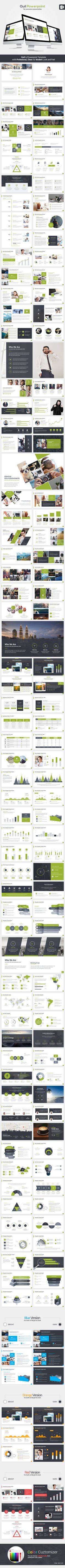 Quil Powerpoint Template