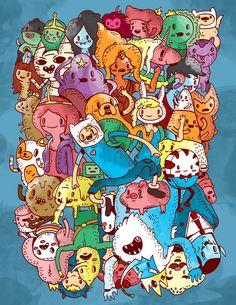 Adventure Time by Jacob Livengood.