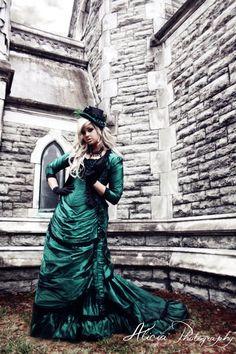 Dress idea, lovin the steampunk victorian feel