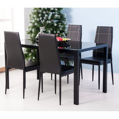 add some charm to your home with this maynard 5 piece dining set the