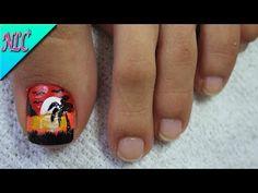 DECORACIÓN DE UÑAS PARA PIES CONEJITA♥ - BUNNY NAIL ART- FRENCH NAIL ART - NLC - YouTube Fall Toe Nails, Pretty Toe Nails, Cute Toe Nails, Summer Toe Nails, Cute Acrylic Nails, Pedicure Nail Art, Toe Nail Art, Manicure, Best Toe Nail Color