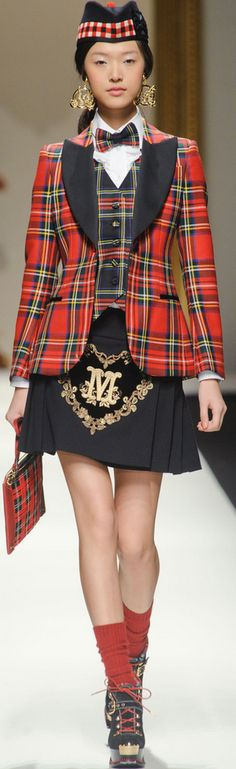 Moschino Fall 2013 -over the top but separately the pieces are beautiful
