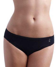 Look at this #zulilyfind! Black Anna Classic Bikini Bottoms #zulilyfinds