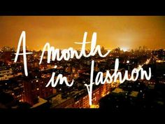 Garance Doré / A Month in Fashion