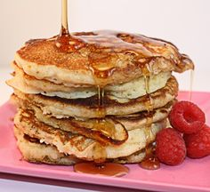 These oatmeal pancakes are DELICIOUS and one of our most popular recipes!