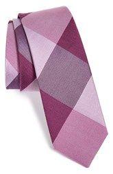 The Tie Bar 'Bison' Silk Plaid Tie