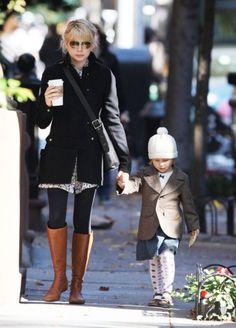 stylish mom, stylish child.... Michelle and mini Heath...