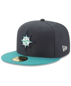 New Era Seattle Mariners Batting Practice Diamond Era 59FIFTY Cap - Blue 7  1 2 b62342417