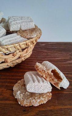 ossa dei morti V Cookie Brownie Bars, Cookie Desserts, Cookie Recipes, Italian Biscuits, Italian Cookies, Biscuit Cookies, Cake Cookies, Italian Love Cake, Burritos