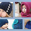 Un bonnet c'est facile à tricoter.... mais quelles sont les mesures quand on veut tricoter pour un enfant?   ...