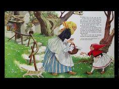 Roodkapje - Sprookje van De gebroeders Grimm met plaatjes