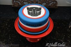 Transformer theme cake By K Noelle Cakes