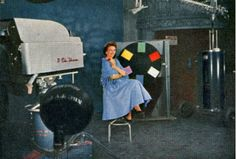 Living test patterns: The models who calibrated color TV