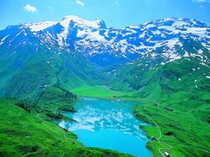 Mt Titlis, Switzerland. Went here today. 6/23/2012