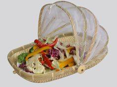 Woven bamboo food cover Food Tent, Picnic, Bamboo, Basket, Cover, Ethnic Recipes, Empire, Stuff To Buy, Fit