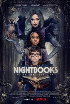Click to View Extra Large Poster Image for Nightbooks Hd Movies, Horror Movies, Movies Online, Movie Tv, Film Horror, Netflix Horror, Movie List, Krysten Ritter, Riley Keough