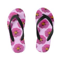 Pair of Flip Flops Girls Flip Flops, Flipping, Keep It Cleaner, Pairs, Unique, Pattern, Shoes, Style, Zapatos