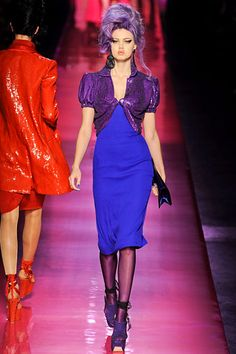 Amy Winehouse Inspired Jean Paul Gaultier Spring 2012 Couture Collection