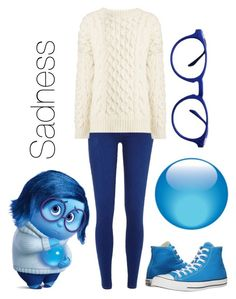 """""""Sadness From Inside out"""" by autumn-szabo on Polyvore featuring River Island, Joseph, Converse and ZENTS"""