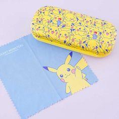 Pokemon Pikachu Overload Eyeglass Case - Blippo Kawaii Shop Key Covers, Kawaii Accessories, New Pokemon, Kawaii Shop, Welcome Gifts, Bottle Holders, Hanging Out, Eyeglasses, Sunglasses Case
