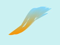 Abstract feather powerpoint backgrounds