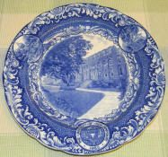 U of NH Commons Spode Plate