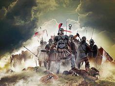 Historical Warriors – The Lost Treasure Chest Rome History, Ancient History, Ancient Rome, Ancient Art, Imperial Legion, Roman Centurion, Roman Warriors, Roman Legion, Greek Warrior
