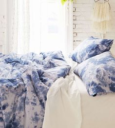 Hand-Dyed Duvet Cover & Sham Set by The Reverie on Scoutmob
