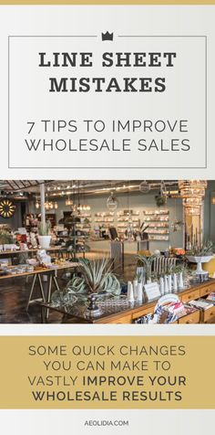 How to refine your wholesale line sheet and avoid 7 key mistakes to create a tool that will result in increased wholesale relationships. Craft Business, Business Tips, Wholesale Soap, Wholesale Products, Mistakes, Line, Improve Yourself, Marketing, Key