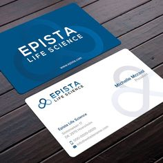 Design professional and attractive business card by jazzymoon create simple and interesting business cards for epista life science by felix sh colourmoves