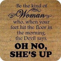 Yes! All females should pay attention to this!