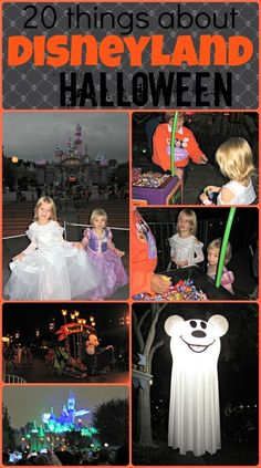 20 Things about Disneyland Halloween Time including tips about Mickey's Halloween Party StuffedSuitcase.com #disney #fall #vacation
