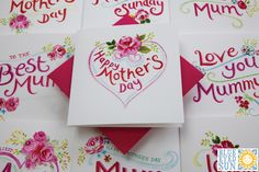 New Mothers Day cards from Blue Eyed Sun for 2017 including Tahiti and Vintage Too. UK Mothering Sunday is on Sunday March Sunday Greetings, Mothering Sunday, Love Days, Mothers Day Cards, Tahiti, Blue Eyes, Greeting Cards, Happy, Happiness