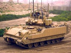 Uparmored M2A3 Bradley